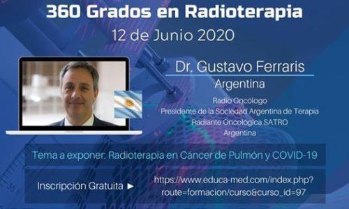Congreso Virtual Hispano Americano – 360 Grados en Radioterapia